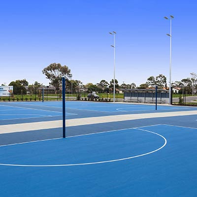 Multipurpose Sports Courts Eagle Stadium Basketball Netball