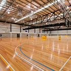 Sports Floors at the Victorian State Basketball Centre by Nellakir