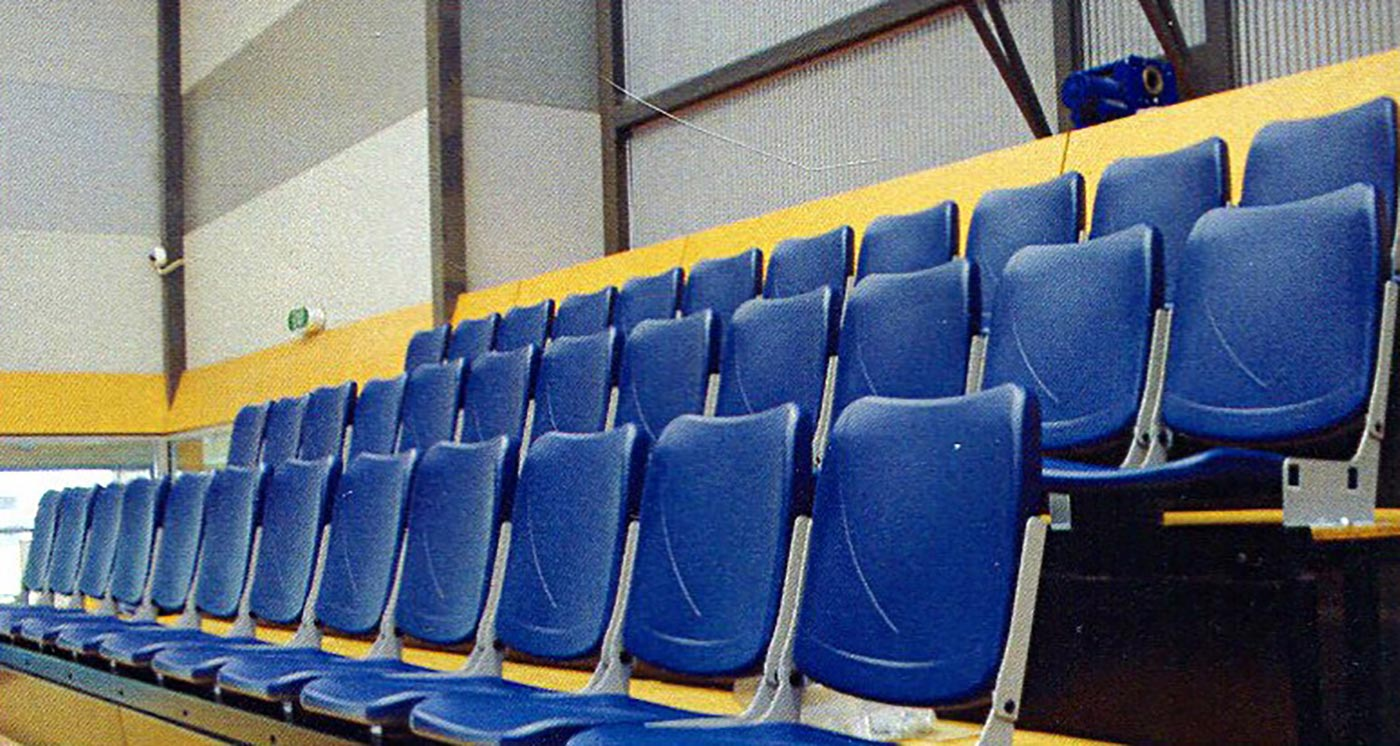 The Cook Seat Stadium Seating from Pacific Seating