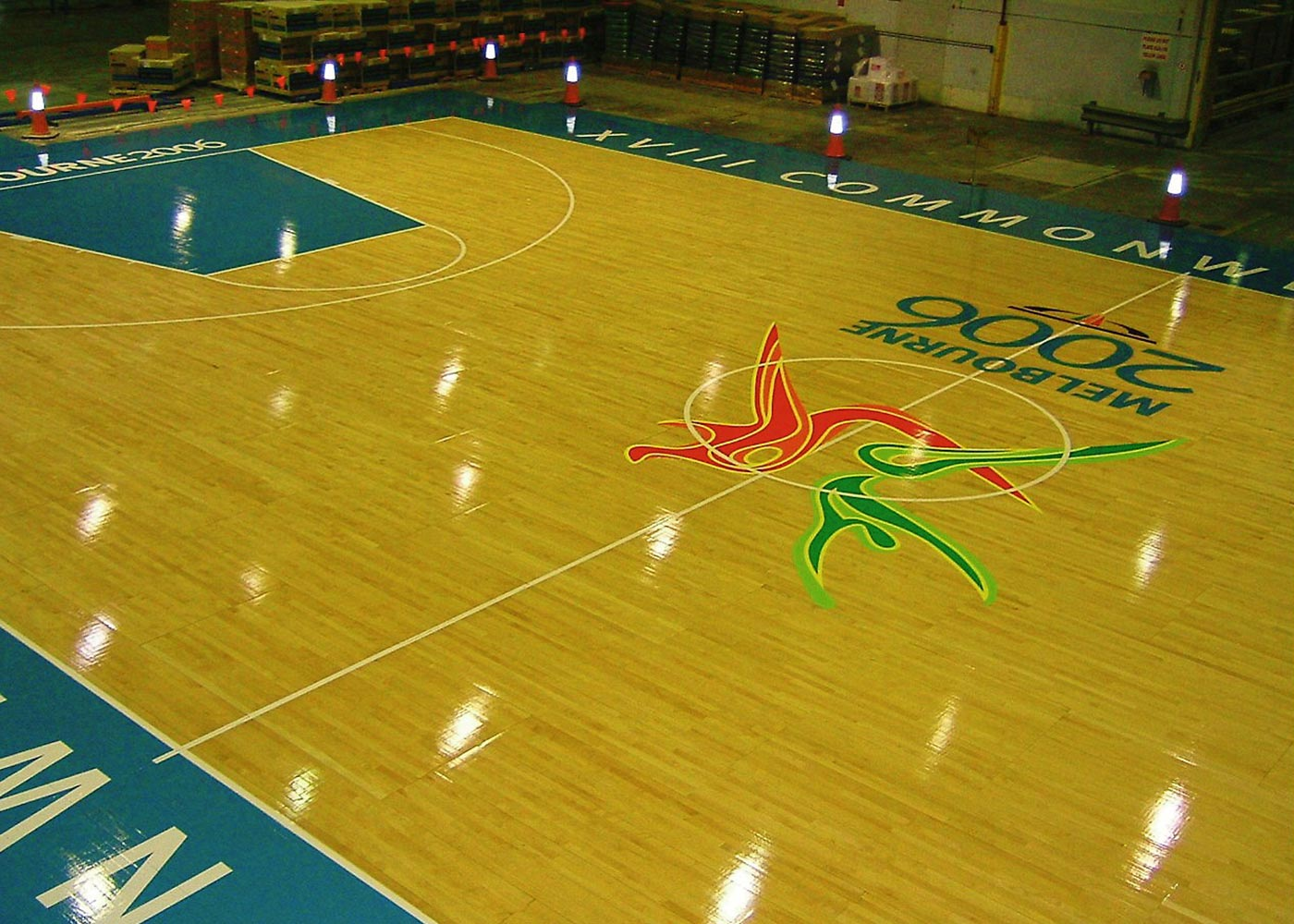 Pro King Sports Flooring at 2006 Commonwealth Games
