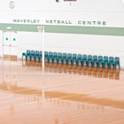 Sports Floors at Waverley Netball Centre by Nellakir